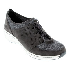 Aetrex Casey Charcoal Shoes