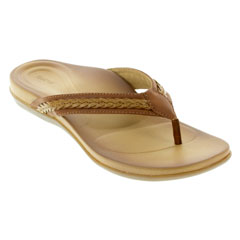 Aetrex Emmy Brown Sandals