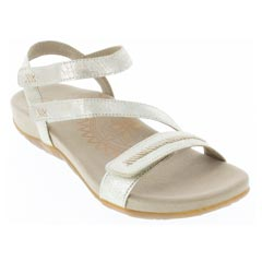 Aetrex Gabby Gold Sandals