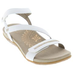 Aetrex Gabby White Sandals
