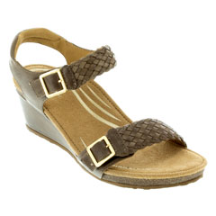 Aetrex Grace Taupe Sandals