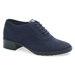 Aetrex Hayden Navy Shoes