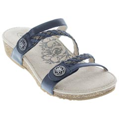 Aetrex Janey Navy Sandals