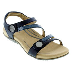 Aetrex Jess Navy Sandals