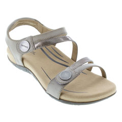Aetrex Jess Smoke Sandals