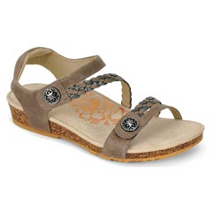 Aetrex Jillian Stone Sandals