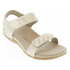 Aetrex Marcy Champagne Sandals