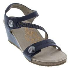 Aetrex Naya Navy Sandals