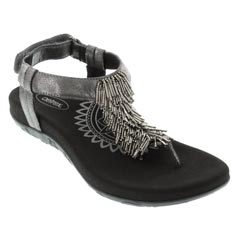 Aetrex Portia Black Sandals