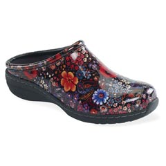 Aetrex Robin Flower Power Clogs