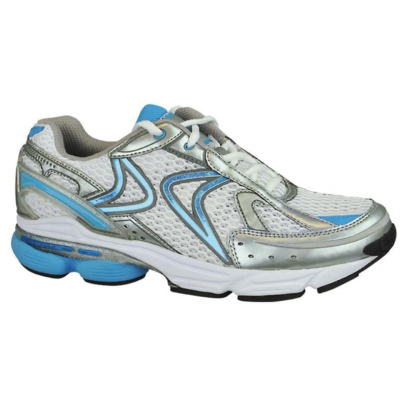 Aetrex Rx Runner White/Blue Shoes