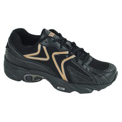Aetrex Zoom Black Shoes