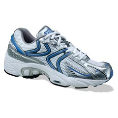 Aetrex Zoom White/Blue Shoes
