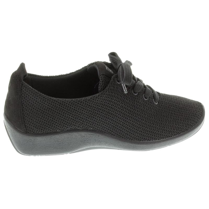 Arcopedico Net 3 Black Synthetic shoes right side view