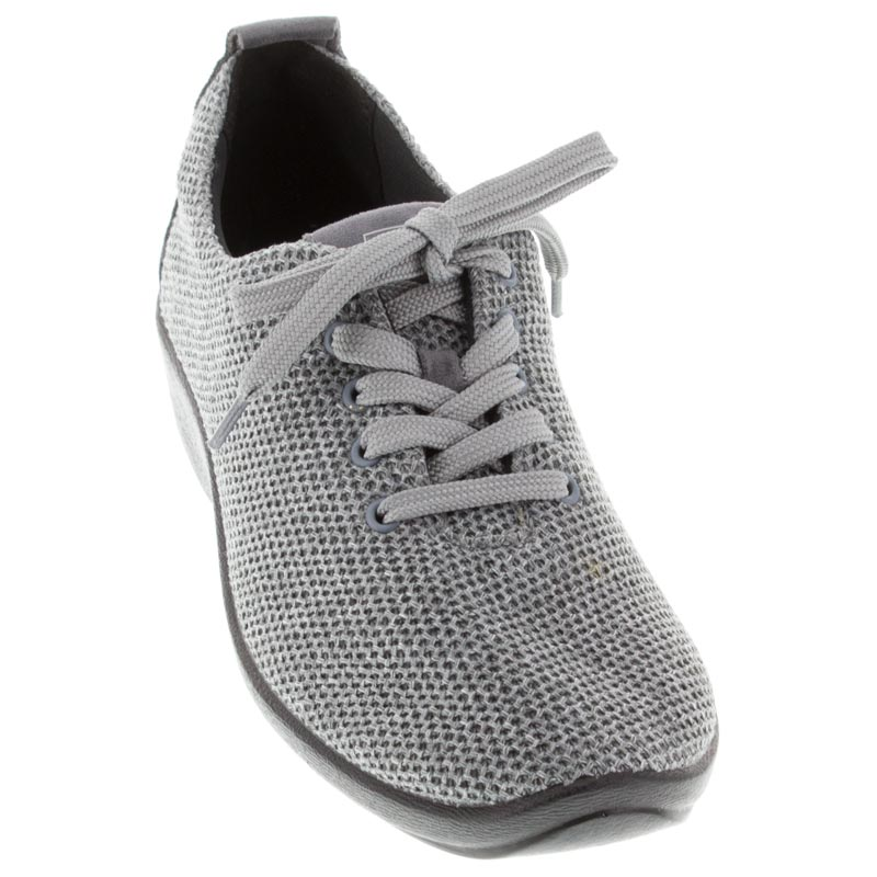 Arcopedico Net 3 Grey Synthetic shoes front view