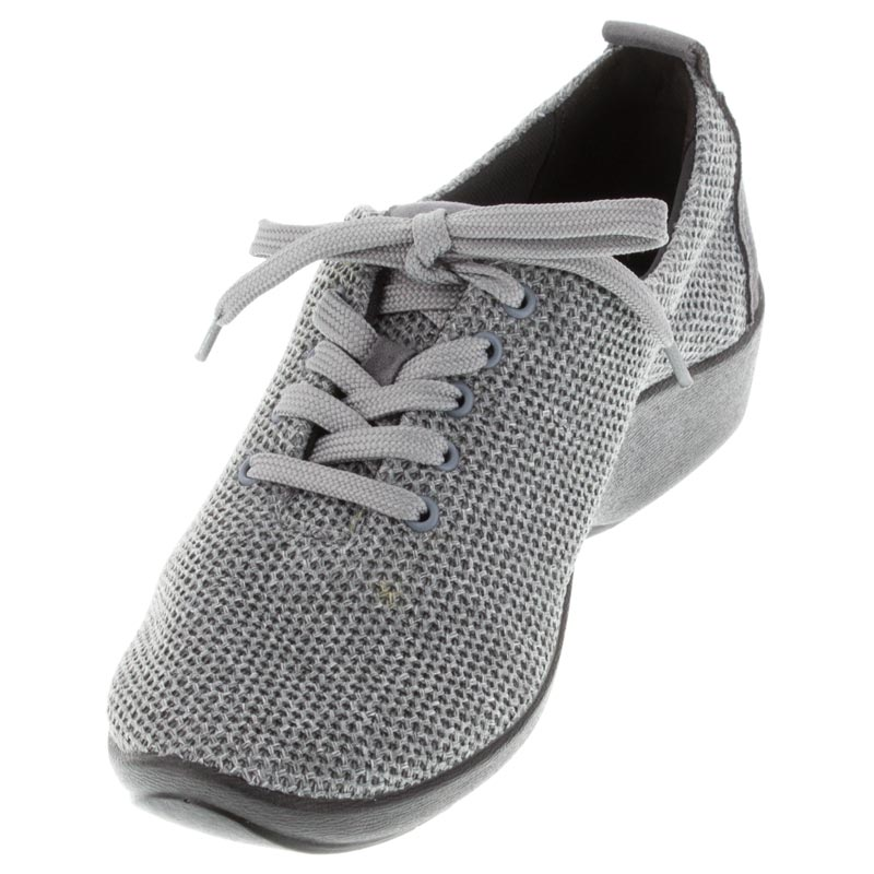 Arcopedico Net 3 Grey Synthetic shoes left front view