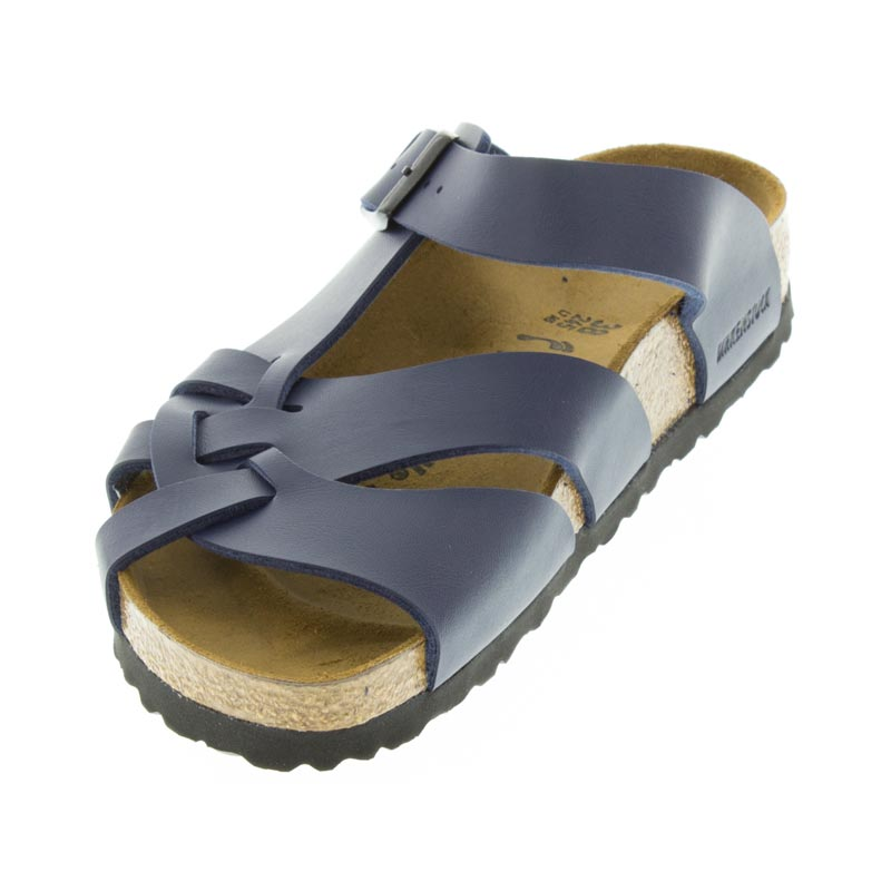 Birkenstock Pisa Navy Birko-Flor right side view