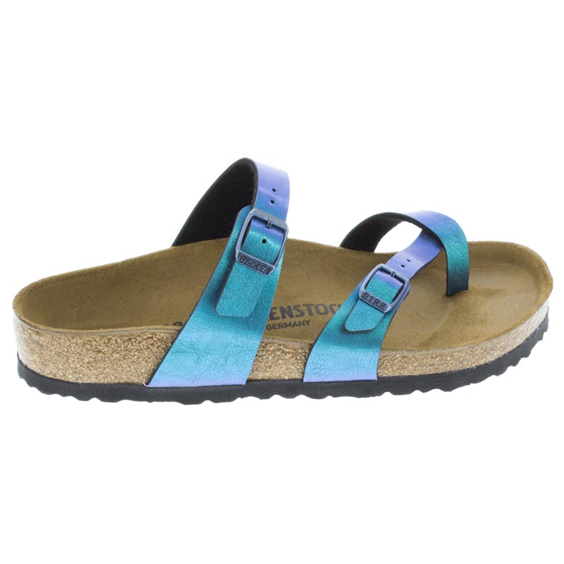 Birkenstock Mayari Graceful Gem Blue Birko-Flor right side view