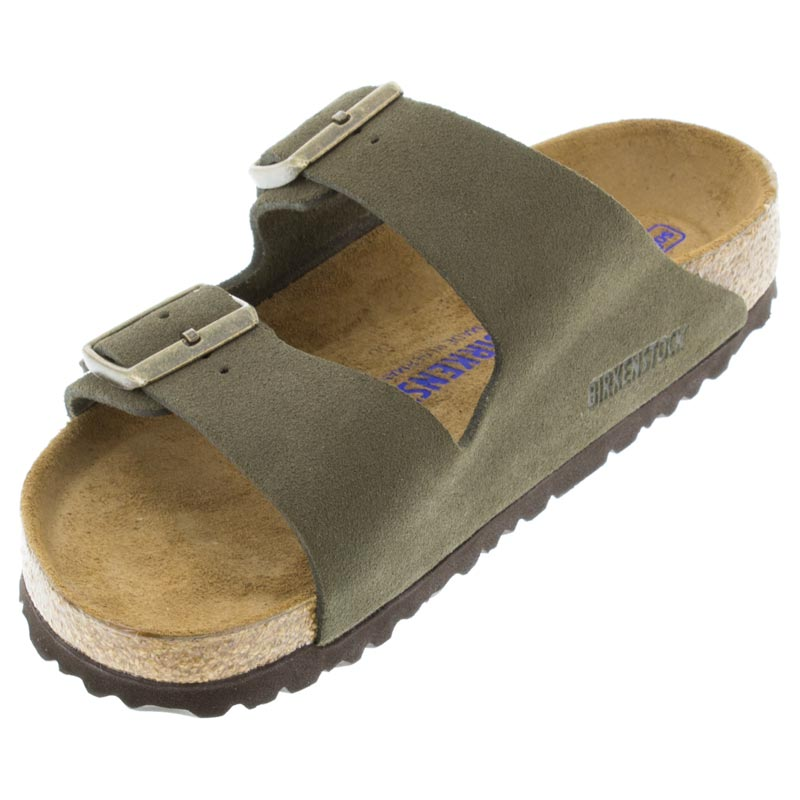 Birkenstock Arizona Forest Suede left front view