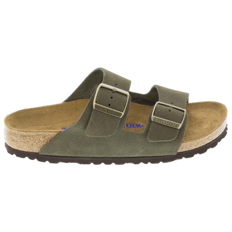 Birkenstock Arizona Forest Suede right side view