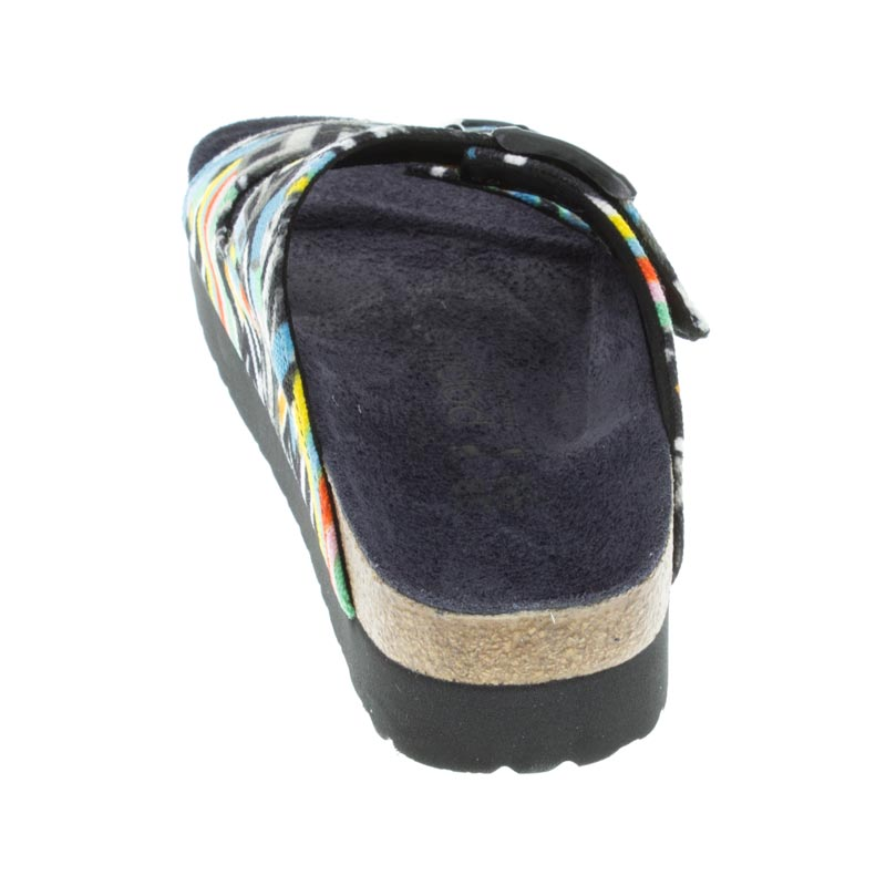 Birkenstock Arizona Pattern Clash Polychromatic Textile back view