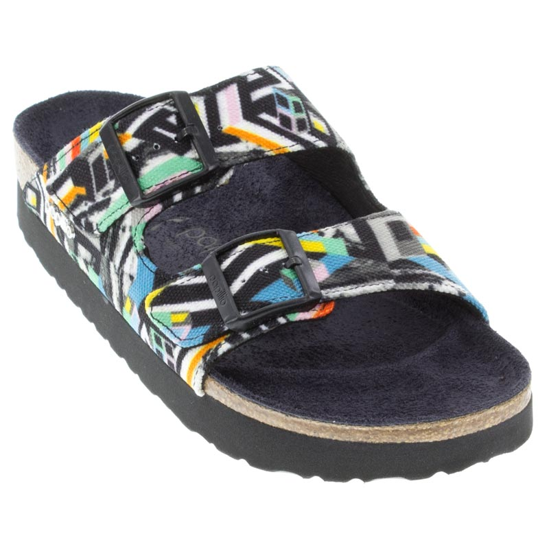 Birkenstock Arizona Pattern Clash Polychromatic Sandals