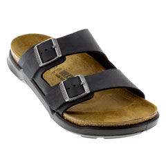 Birkenstock Arizona Cross Town Black Sandals
