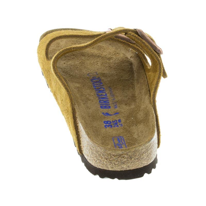 16c545a55 Womens Birkenstock Arizona Mink Suede - Happyfeet.Com