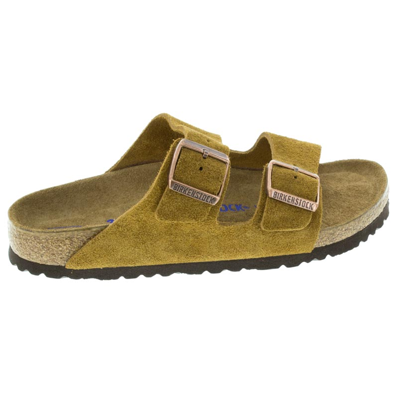 770a152aa39c Birkenstock Arizona Mink Suede Soft Footbed right side view