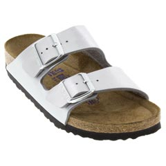 Birkenstock Arizona Silver Sandals