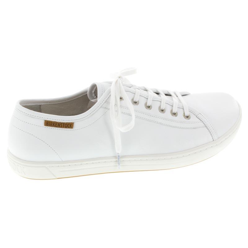 36451bbbb82c Mens Birkenstock Arran White Leather - Happyfeet.Com