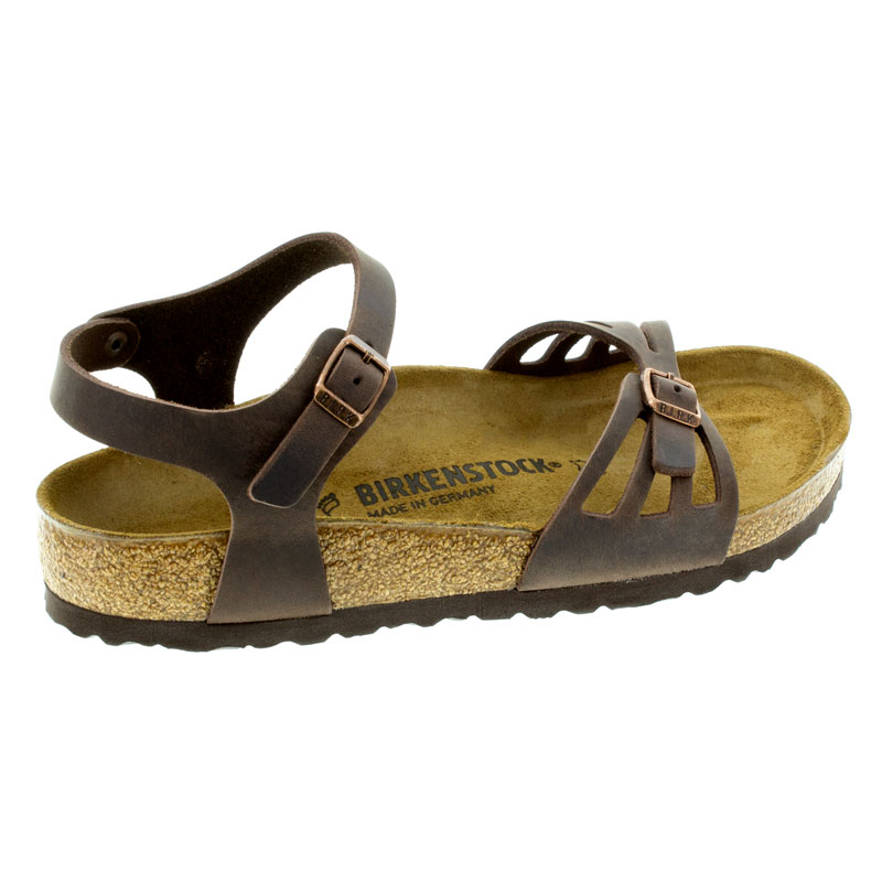 Birkenstock Bali Habana Oiled Leather Sandals right side view