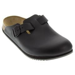 Birkenstock Boston Black Clogs