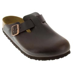 Birkenstock Boston Brown Clogs