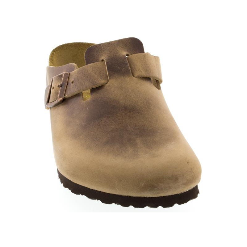 Birkenstock Boston Tobacco Oiled Leather