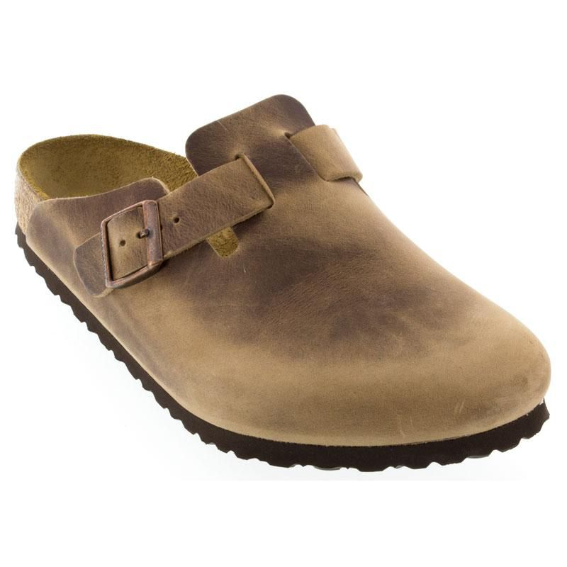 Birkenstock Boston Tobacco Clogs