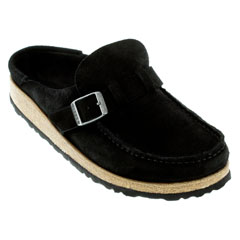 Birkenstock Buckley Black Clogs