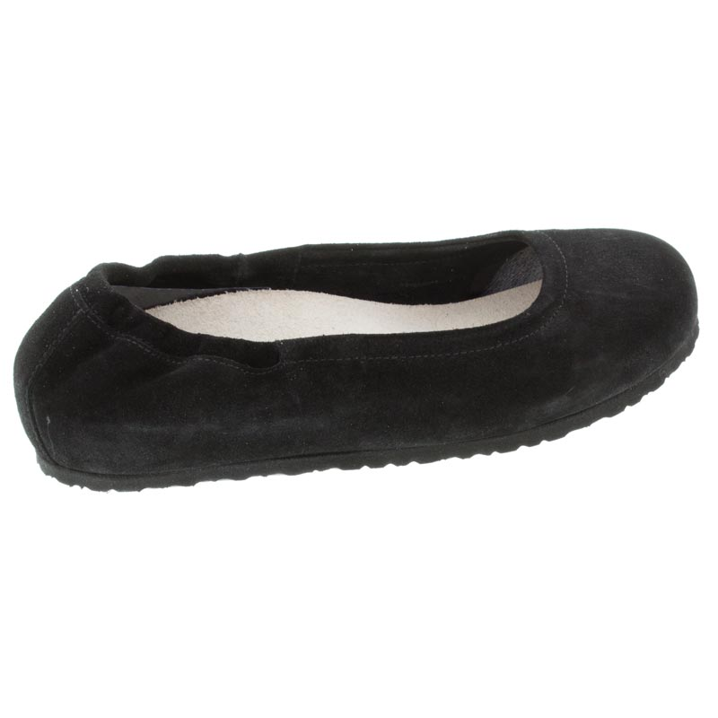 Birkenstock Celina Black Suede right side view