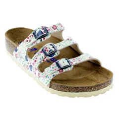 Birkenstock Florida Meadow Flowers Beige Sandals