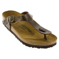 BIRKENSTOCK GIZEH BIRKO-FLOR GOLDEN BROWN