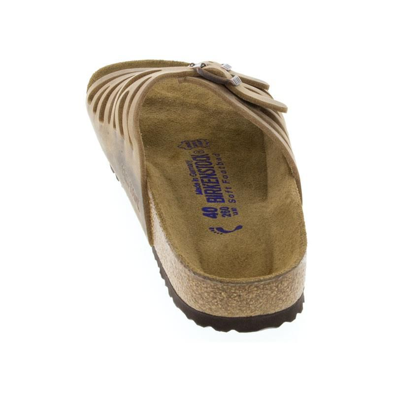 Birkenstock Granada Tobacco Leather Soft Footbed