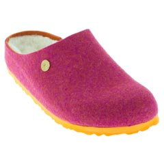Birkenstock Kaprun Happy Lamb Fuchsia Clogs