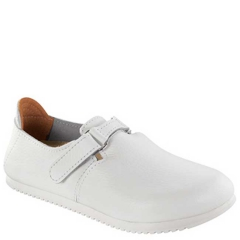 LINZ LEATHER WHITE