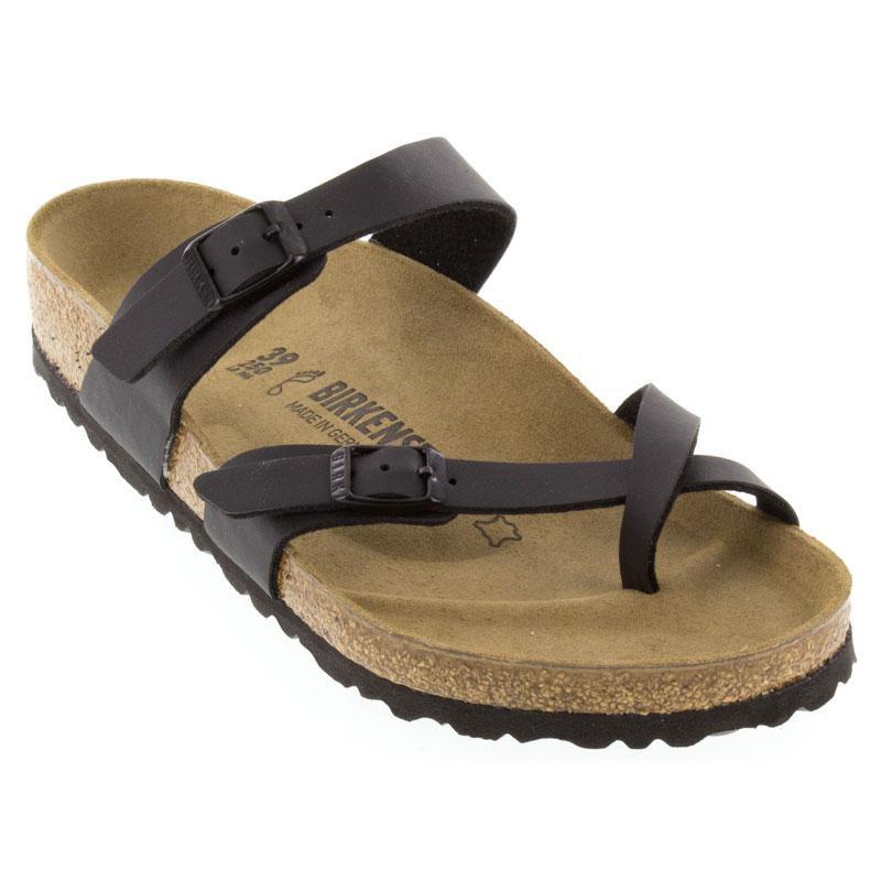08db7e233b89 Birkenstock Mayari Black Sandals. Birkenstock Mayari Black Birko-Flor