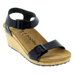 Birkenstock Soley Black Sandals