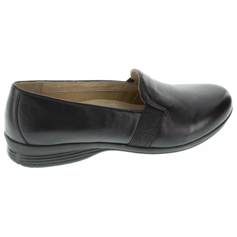Dansko Addy Black Leather right side right shoe