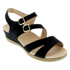 Dansko Angela Black Sandals