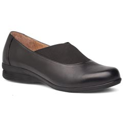 Dansko Ann Nappa Leather Black Shoes