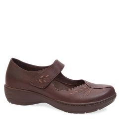 ANNIE FULL GRAIN LEATHER brown rust