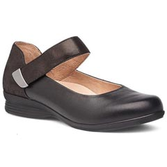 Dansko Audrey Black Shoes